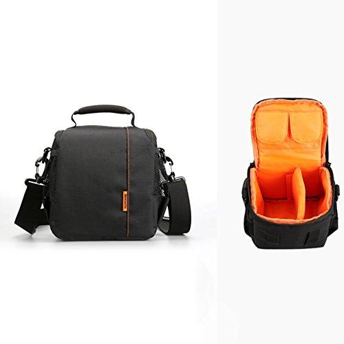 Amcool Portable Kamerarucksäcke für Canon Nikon Sony, Luxus Wasserdicht DSLR Fall Kamera Tasche Orange (Dslr-fall)