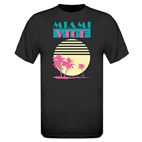 Miami Vice T-Shirt by Shirtcity, 5 Colours - S to 3XL