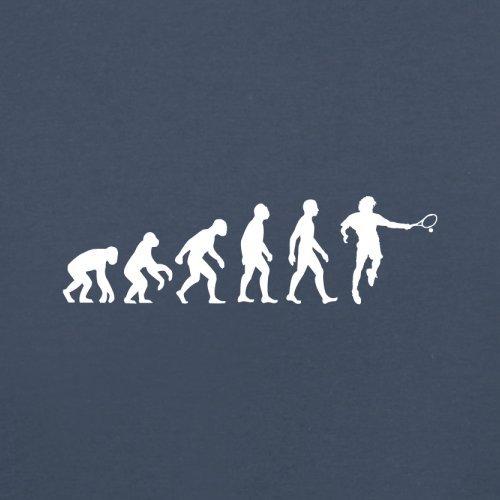 Evolution of Man - Tennis - Herren T-Shirt - 13 Farben Navy