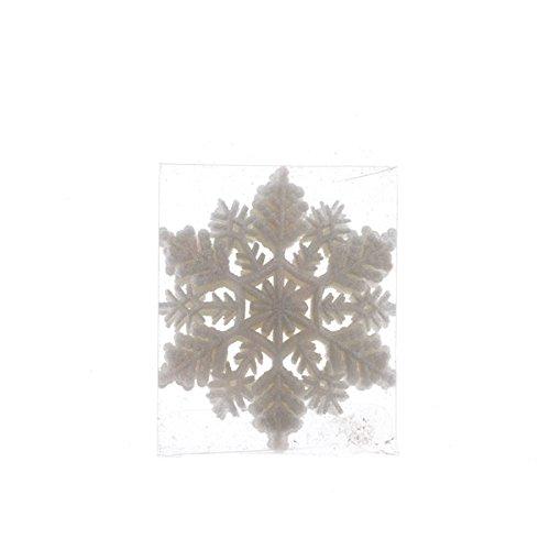 Izaneo - Boite de 8 flocons de neige blanc