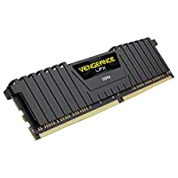 كورسير التهوية LPX 16 جيجابايت (2 x 8 جيجابايت) DDR4 3600 (PC4-28800) C20 ذاكرة سطح المكتب 1.35 فولت - اسود
