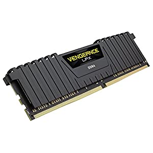 Corsair-CMK8GX4M1D2400C14-Vengeance-LPX-4-GB-1-x-4-GB-DDR4-2400MHz-C14-XMP-20-High-Performance-Desktop-Memory-Module-Black