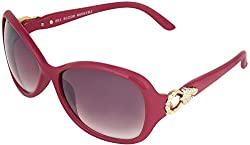 Omnesta Women's Over-sized Sunglasses (Violet) (PD060)