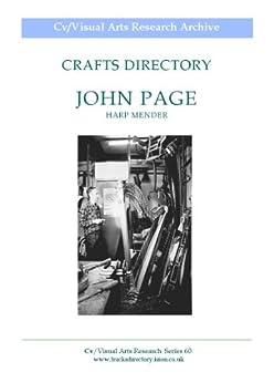 John Page: Harp Mender (Cv/Visual Arts Research Book 60) by [James, Nicholas]