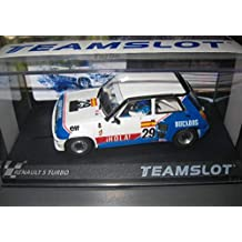 Fly SCALEXTRIC Renault 5 Turbo Elf DE J. Pareja EUROCUP 1984 DE Team Slot