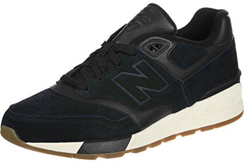 New Balance 597 Uomo Sneaker Nero Nero