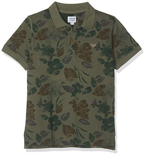 ARMANI JUNIOR Poloshirt dunkelgrün 8 Jahre (128 cm) - Junior Armani