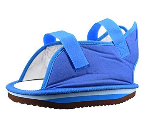 YxnGu Canvas Cast Sandal mit verstellbaren Trägern - Post-Op Schuh für Männer & Frauen - Wanderschuh für gebrochene Zehen/Fußfraktur (Size : XS) -
