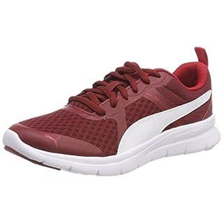Puma Unisex-Erwachsene Flex Essential Sneaker, Rot (Pomegranate White 10), 43 EU