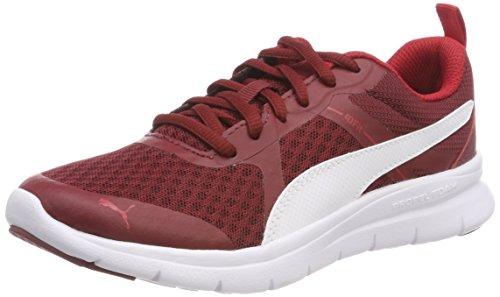 Puma Unisex-Erwachsene Flex Essential Sneaker, Rot (Pomegranate White 10), 42 EU