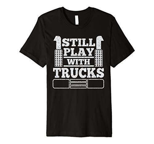 52c2f6a0d Trucker driver funny t shirt al mejor precio de Amazon en SaveMoney.es