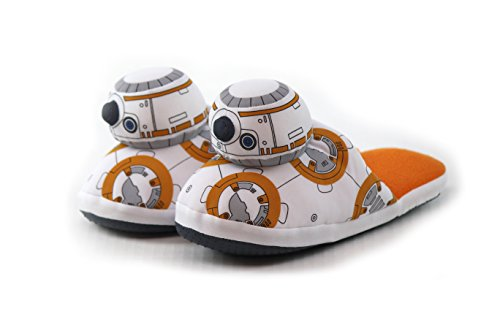 Star wars episode vii slippers bb-8 size 40-41 comic images calzature