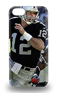 Hot Snap On NFL Oakland Raiders Rich Gannon #12 Hard Cover 3D PC Case Protective 3D PC Case For Iphone 5/5s ( Custom Picture iPhone 6, iPhone 6 PLUS, iPhone 5, iPhone 5S, iPhone 5C, iPhone 4, iPhone 4S,Galaxy S6,Galaxy S5,Galaxy S4,Galaxy S3,Note 3,iPad Mini-Mini 2,iPad Air )