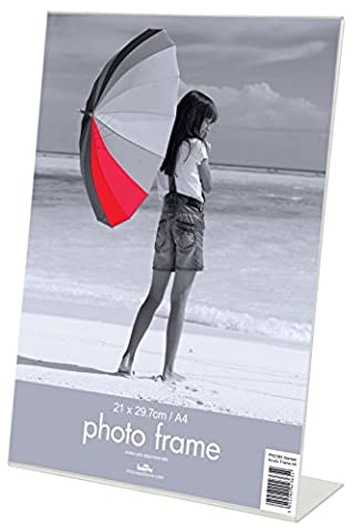 Innova Editions - 20 x 25 cm/10 x 8 Biais de 4 cadres Photo en acrylique Transparent