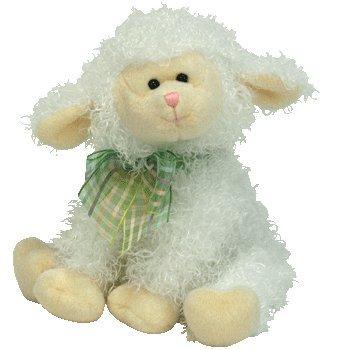 Ty Floxy Beanie Lamm Schaf 15 cm (Beanie Babies Lamm)