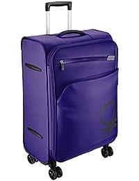 UCB Polyester 58 cms Purple Suitcase (0IP6SPO20M01I)