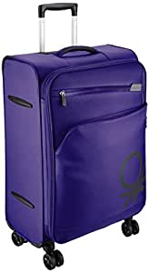 United Colors of Benetton Polyester 58 cms Purple Suitcase (0IP6SPO20M01I)