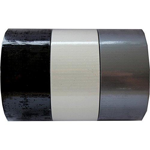 1 Rolle Panzertape, Heimwerker Klebeband, Gaffa Tape 50mm x 25m Farbe schwarz