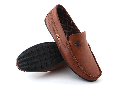 LEE-VISE Men's Casual Loafer (9)(S-09)