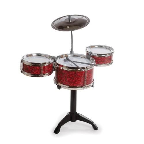 Desktop Drum Set (Red)