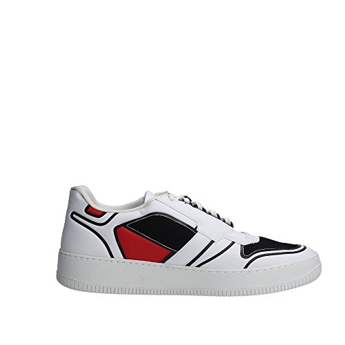 D.a.t.e. SLAM LOW-12 Sneakers Homme Bianco