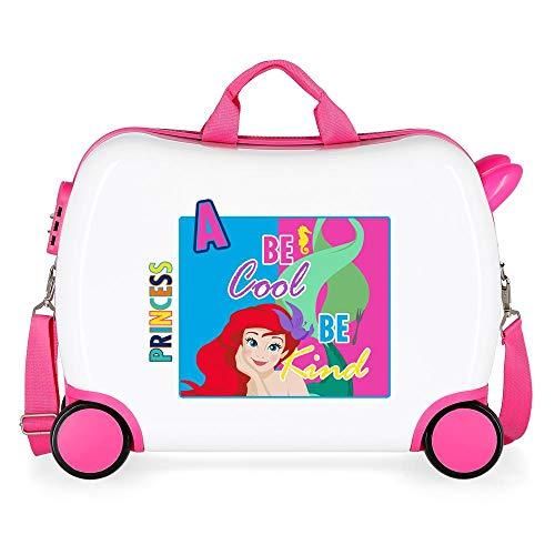 Disney Attitude Princess Valigia per bambini 50 Centimeters 34 Multicolore (Multicolore)