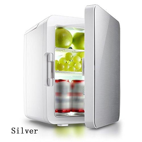 FJW 12V Tragbarer Auto-Kühlschrank 10L Mini Heimgebrauch Autobenutzung Kühler Kühlschrank Essens Wärmer Halbleiter - Für Rack Metall Gefrierschrank