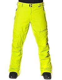 Horsefeathers Hosen Scout Pants - Mono de esquí para hombre, color lima, talla XL