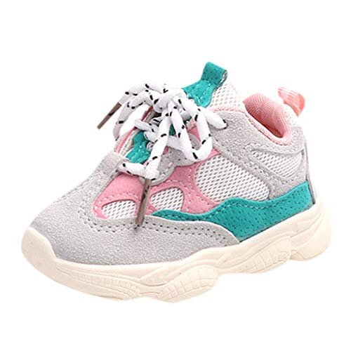 Toddler Infant Kids Neonate Stitching Color Sneakers Running Sport Shoes