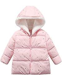 Hawkimin Kinder Baby Mädchen Jungen Winter Mit Kapuze Mantel Jacke Warme Oberbekleidung