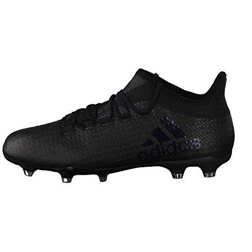 adidas X 17.2 Fg, Scarpe da Calcio Uomo Nero (Core Black/core Black/utility Black)