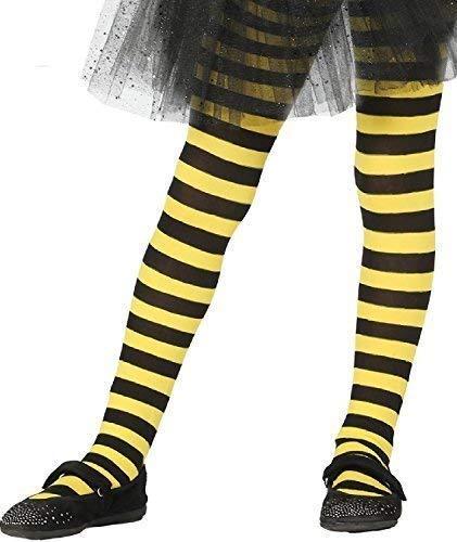 Fancy Me Filles Déguisement Abeille Rayure Noir Jaune Carnaval Insecte Mini  Bête Costume Déguisement Accessoire Collant 69ff4150d8c