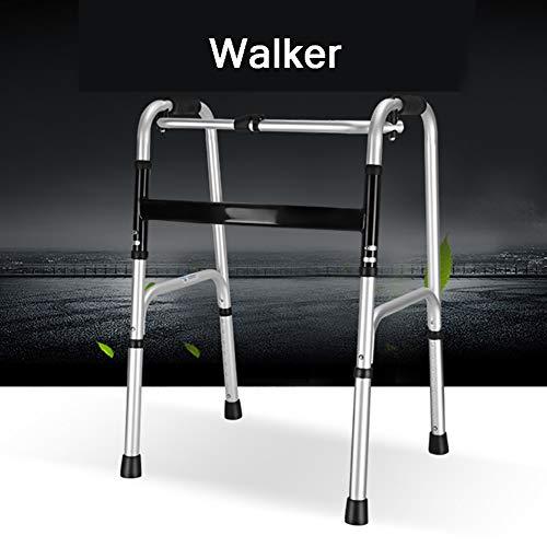 SUN RNPP Rollatoren Rollator ohne räder mit knopf Erwachsene tragbare medizinische geräte mit höhenverstellbarer gehhilfe,Trainer für untere extremitäten