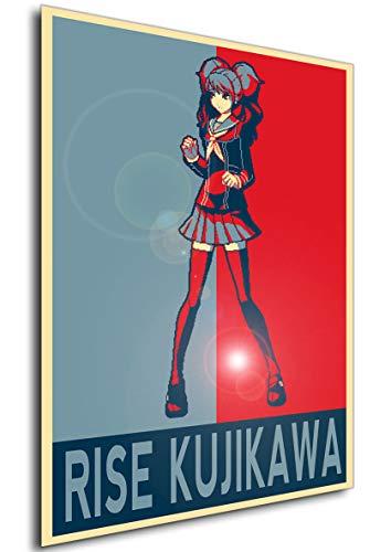 Kujikawa Rise (Instabuy Poster - Propaganda - Pixel Art - Persona 4 Arena - Rise Kujikawa A3 42x30)