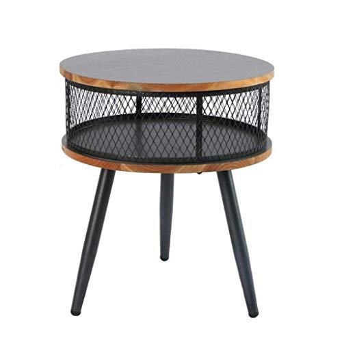 Moderne Stahl-kaffee-tisch (L.TSA Couchtisch Beistelltische Beistelltisch Sofa Tisch Seite/Kaffee/Snack/Ablagetisch für Zuhause, Wohnzimmer, Büro)