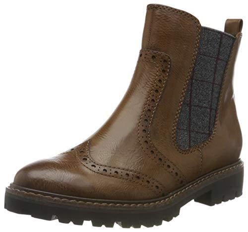 MARCO TOZZI Damen 2-2-25403-33 Chelsea Boots, Braun (Cognac Antic 310), 39 EU