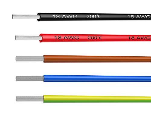 Litze LiYv 0,50mm² 25m Spule gelb 16x0,20mm verz -70°C 0,20€//1m