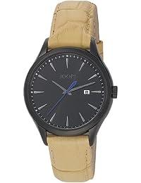 Joop  Composure Swiss Made - Reloj de cuarzo para hombre, con correa de cuero, color beige