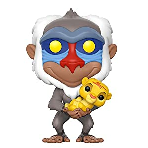 Pop Disney Lion King Rafiki holding baby Simba