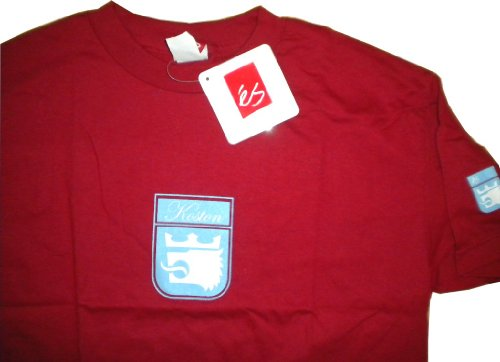Herren Skateboard Deck (ES Footwear Skateboard T-Shirt Eric Koston Red - Shirt Skate Shoes Wear, XL)