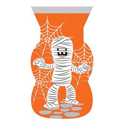 12 Lustig gruselige Mumien Halloween -