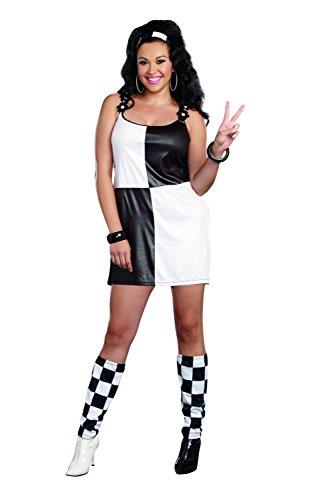 Dreamgirl 9859X Ja Baby weiblich Kostüm (3x/4x große) (Dreamgirl Mädchen Kostüme)