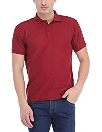 Trendy Trotters Maroon Polo Cotton T-Shirt