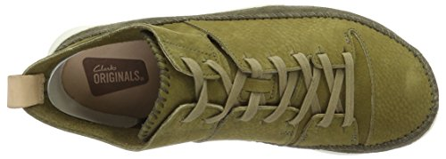 Clarks Originals Trigenic Flex, Baskets mode homme Vert (Forest Green)