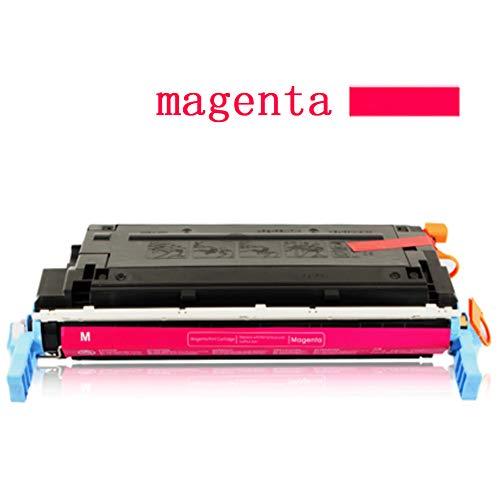 Druckerpatrone für HP 641A C9720A C9721A C9722A C9723A Tonerkartusche kompatibel mit HP Color Laserjet 4600 4650 Farblaserdrucker, 100% passgenau kompatibel Large magenta -