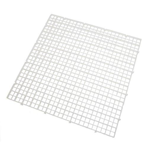 """sourcingmap® 4Stk Aquarium Tank klarer Plastik Quadrat Trennung Brett Isolierung 11,8 \""""Länge"""
