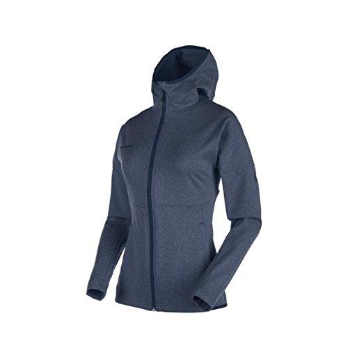 Mammut Luina ML Jacket Women - Fleece Damenjacke marine-white melange