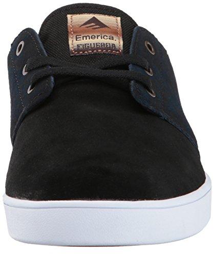 Emerica The Figueroa, Herren Skateboardschuhe navy/black