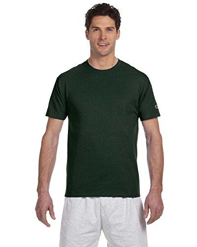 champion-camiseta-asimetrico-para-hombre-verde-verde-oscuro-extra-large