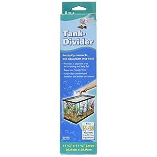 """Pen Plax TDLBX Large Tank Divider for Aquariums, 11-3/8"""" x 11-3/8"""" 12"""